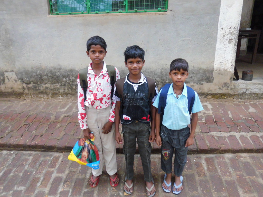 Three Brothers: Ujjwal, Avinash and Vimal back after a few days with relatives